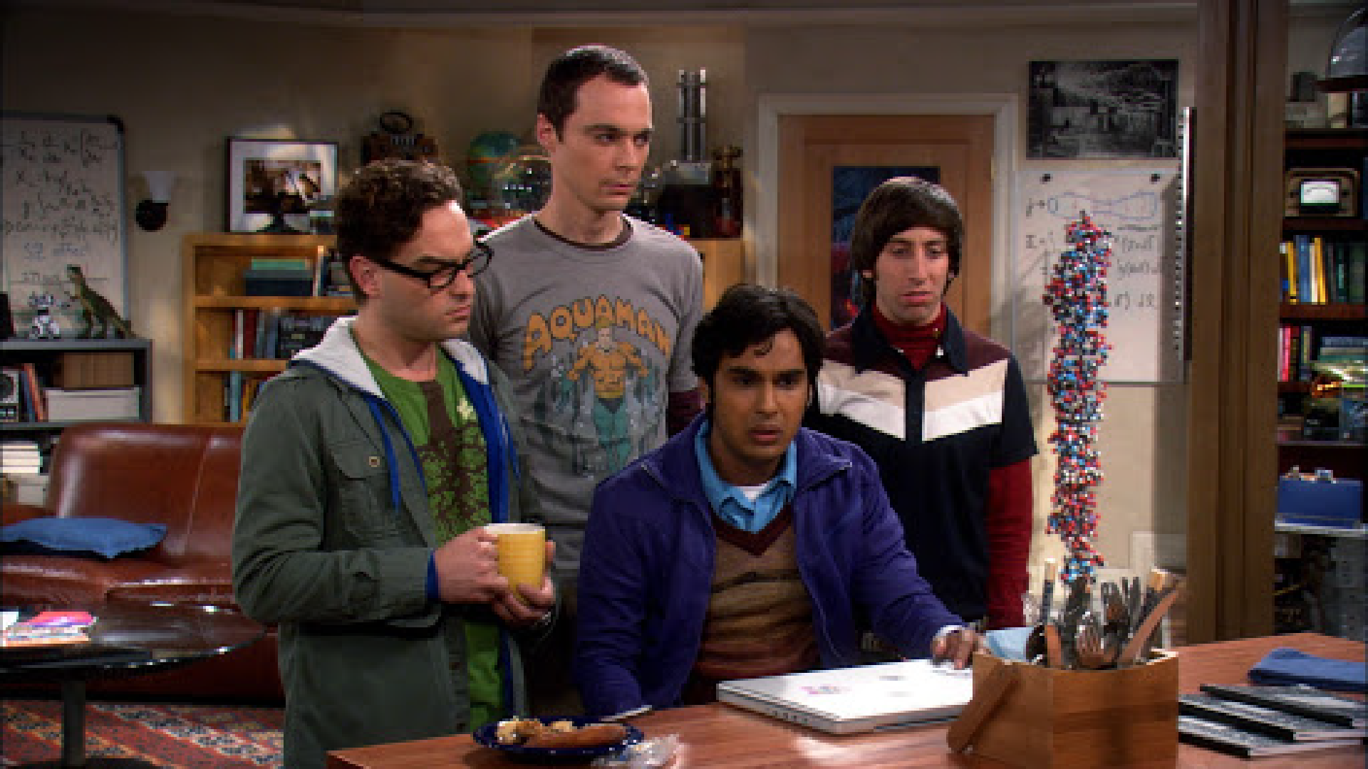 The big bang theory - i 4 scienziati