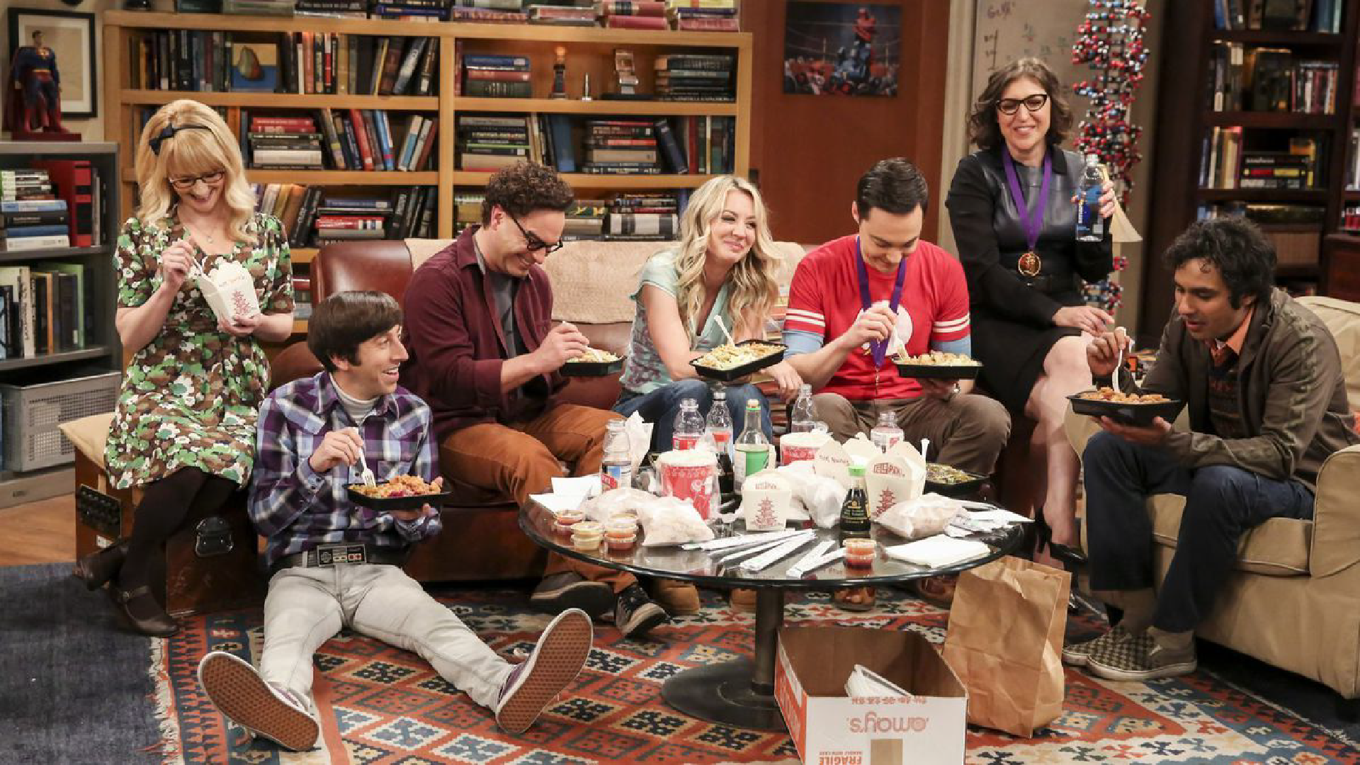 The big bang theory - il cast