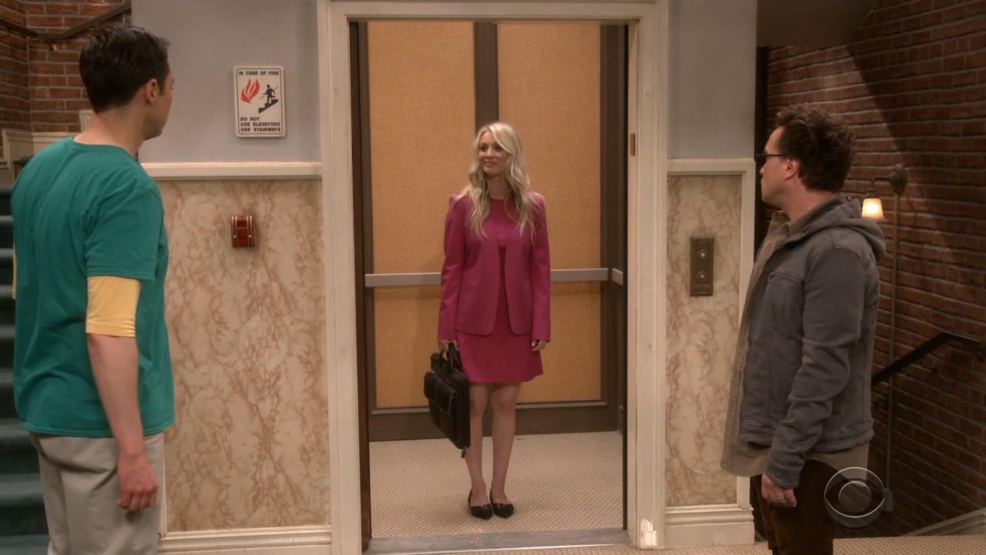 The big bang theory - ascensore